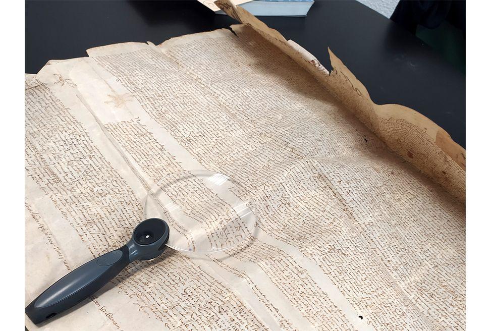 Pergamí. Arxiu Municipal de Lleida
