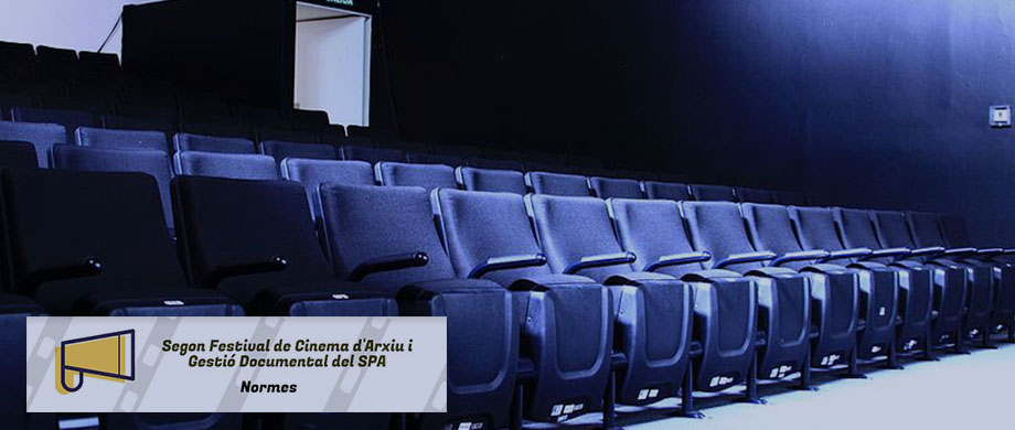 Obert el termini per la presentació de les pel·lícules al Segon Festival d'Arxius i Gestió Documental del SPA