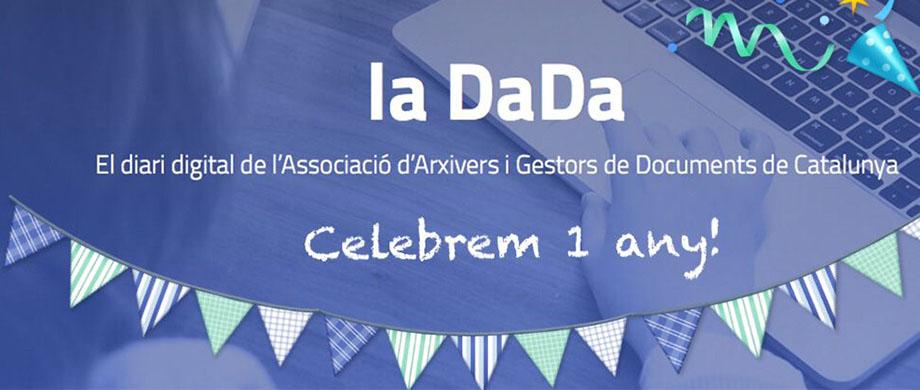 1 any de la DaDa, el digital de l'Associació