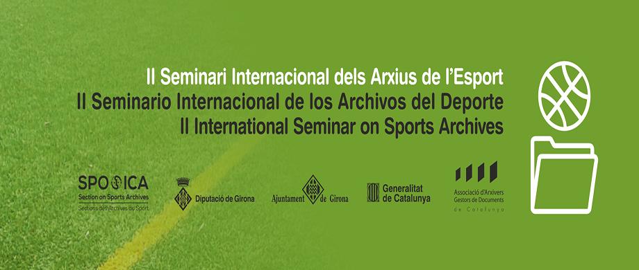 Consulta el programa i inscriu-te al II Seminari Internacional dels Arxius de l'Esport