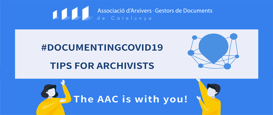 #DOCUMENTINGCOVID19: Tips for citizens & archivists