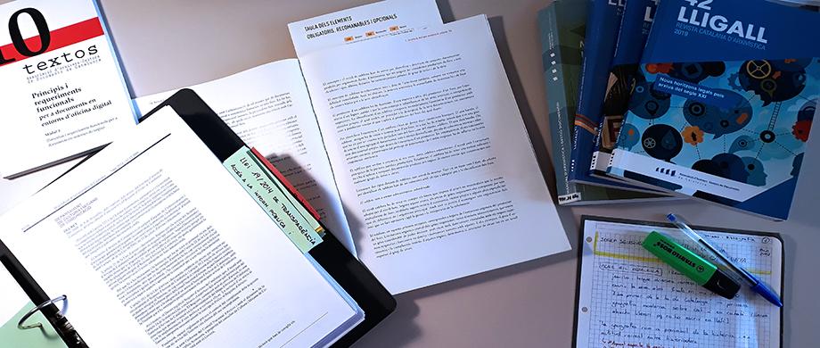 L'AAC presenta 63 fitxes desenvolupades del temari específic d'arxivística