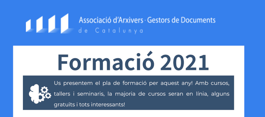 Pla de formació 2021