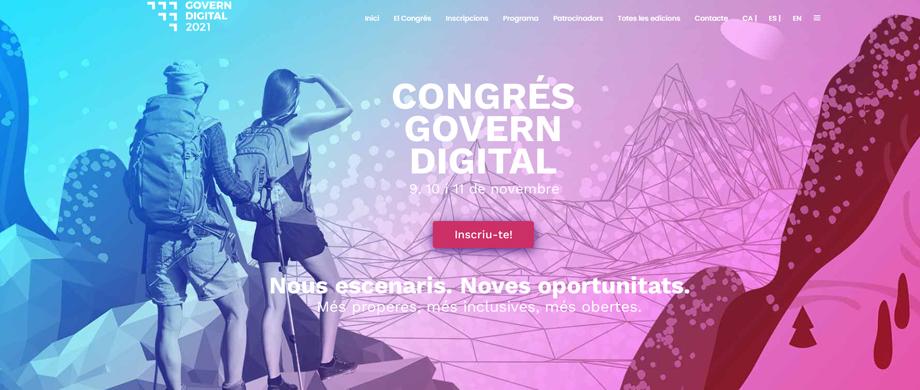 L'AAC al Congrés de Govern Digital 2021